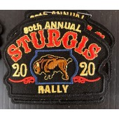 SRP11- 80th Annual Sturgis Rally Patches
