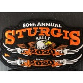 SRP13- 80th Annual Sturgis Rally Patches