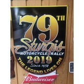 WP1- 79th Sturgis Motorcycle Rally Metal Wall Plate