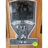 WP2-78th Sturgis Motorcycle Rally Metal Wall Plate