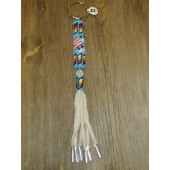 KC14- Navajo Handmade Beaded Key Chain