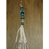 KC16- Navajo Handmade Beaded Key Chain