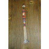 KC18- Navajo Handmade Beaded Key Chain