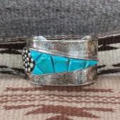 PB73- Pawn Channel Inlay Bracelet
