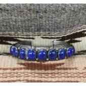 PB78- Pawn Lapis Bracelet