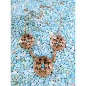 PN3- Pawn Wedding Basket Necklace