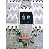 PN4- Pawn Inlay Necklace Set