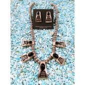 PN5- Pawn Onyx Necklace Set