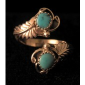 AR3 Sleeping Beauty Turquoise Adjustable Ring