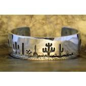 RMB4 Tohono O'odham Overlay Bracelet By Rick Manuel