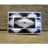 BB11 Zuni Inlay Belt Buckle