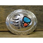 BB9 Bear Paw Design Belt Buckle