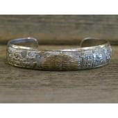 PB64 Pawn Navajo Handmade Storyteller Bracelet