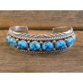 PB72 Pawn Sleeping Beauty Turquoise Bracelet