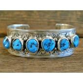 PB77 Pawn Sleeping Beauty Turquoise Bracelet