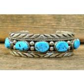 PB90 Pawn Bracelet with Sleeping Beauty Turquoise