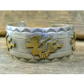 PB92 Pawn Kokopelli Design Bracelet