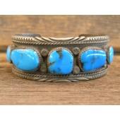 PB100 Pawn Navajo Turquoise Bracelet