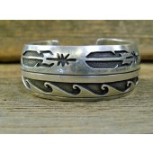PB103 Pawn Navajo Sterling Bracelet