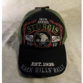 H13- 78th Annual Sturgis Motorcycle Rally Hat