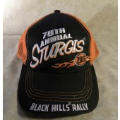 H15- 78th Annual Sturgis Motorcycle Rally Hat