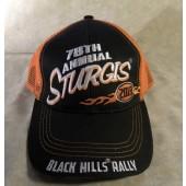 RH6- 79th Annual Sturgis Black Hills Rally 2019 Hat