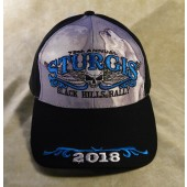 H18- 78th Annual Sturgis Motorcycle Rally Hat