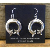 ERN3 Sand Cast Naja Earring By Alvin Thompson