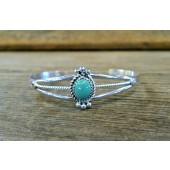 B15- Navajo Handmade Turquoise Bracelet