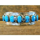EBC6 Effie Calavaza Sleeping Beauty Turquoise Bracelet