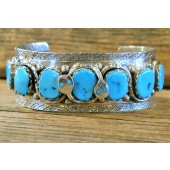 ECB8 Effie Calavaza Sleeping Beauty Turquoise Bracelet