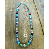 TSN2 Tommy & Rose Singer Turquoise Necklace