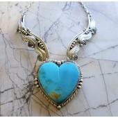 MLN1- Monroe & Lillie Ashley Heart Necklace