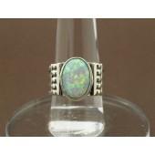 R2- Sterling Navajo Opal Ring