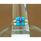 R8- Zuni Inlay Ring