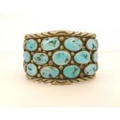 BP11 Navajo Handmade Pawn Bracelet