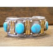 PB10- Pawn Kingman Turquoise Bracelet