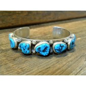 PB15- Pawn Sleeping Beauty Turquoise Bracelet