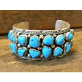 PB22-  Pawn Sleeping Beauty Turquoise Bracelet