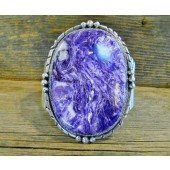 MLAB4- Monroe & Lillie Ashley Large Charoite Bracelet