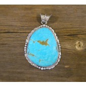 AP1- Monroe & Lillie Ashley Large Turquoise Pendant