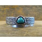 PB30- Pawn Navajo Turquoise Bracelet