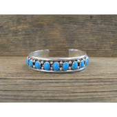 PB36- Pawn Sleeping Beauty Turquoise Bracelet