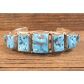 PB37- Pawn Sleeping Beauty Turquoise Bracelet