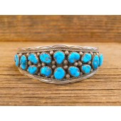 PB46- Pawn Sleeping Beauty Turquoise Bracelet