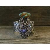 ASB1 Navajo Handmade Bracelet By Alex Sanchez