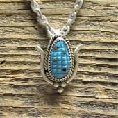 PD1- Zuni Handmade Pendant