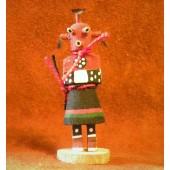 KN1 Mudhead Navajo Handmade Kachina