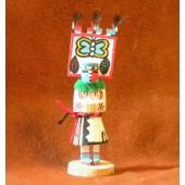 KN3 Butterfly Navajo Handmade Kachina