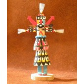 KN6 Zuni Cloud Man Navajo Handmade Kachina